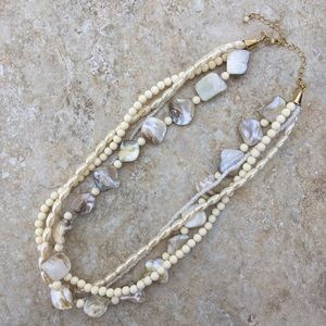 Avon Mother of Pearl Necklace OS